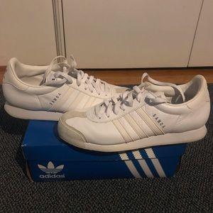 Men's Adidas Samoa Shoe White Size 11